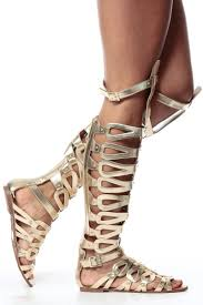 gold thigh high gladiator sandals cicihot sandals shoes online