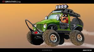 jeep cartoon offroad cartoon the ultimate jk drivingline