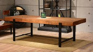 Contemporary Dining Room Table Modern Rustic Dining Table Dining Room Contemporary With