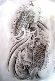 the koi monochrome koi fish designs tattooeve com