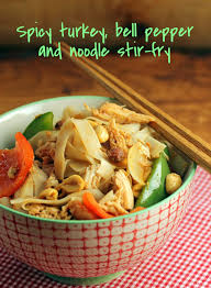 the pantry spicy turkey bell pepper and noodle stir fry