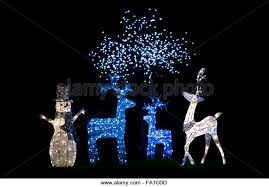 Reindeer Christmas Decorations Lights by Reindeer Xmas Lights Stock Photos U0026 Reindeer Xmas Lights Stock
