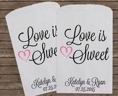 wedding favor bag candy buffet bags personalized favor bags