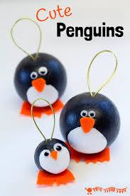 penguin craft penguin ornaments craft room