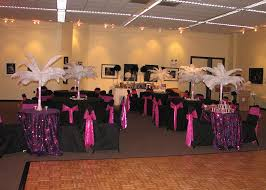 Ostrich Feather Centerpiece Kimberly Lace Wedding Decoration Rentals