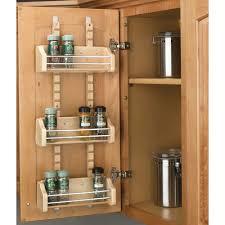 Cabinet Door Mounted Spice Rack Cabinet Door Mount 3 Shelf Spice Rack Door Mounted Spice Rack