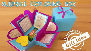 gift box 2 gift idea exploding box diy
