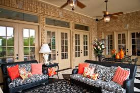 wicker loveseat in patio traditional with french country style patio