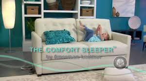 American Leather Sleeper Sofa by Sager U0027s Home Living American Leather Comfort Sleeper Sofa Youtube