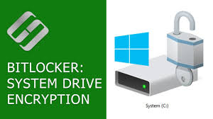how to encrypt system disk c with bitlocker in windows 10 without