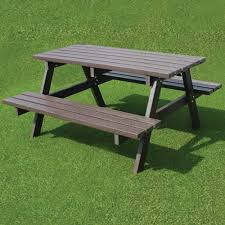 recycled plastic picnic tables u0026 benches the nobutts bin company