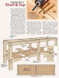Woodworking Bench Top Plans by Heavy Duty Workbench Plans Workshop Solutions Projects Tips And