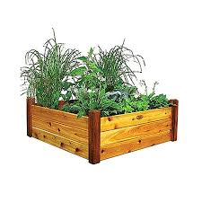 Cedar Raised Garden Bed Shop Raised Garden Beds At Lowes Com