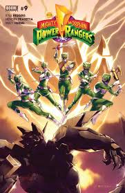 mighty morphin power rangers 9 free comics download