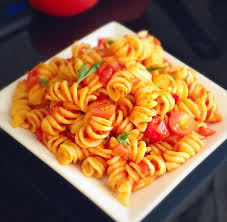 tomato pasta recipe pasta in basil garlic tomato sauce sandy home