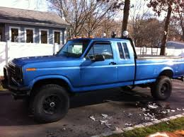 1985 ford f150 extended cab ford f 250 extended crew cab 1985 blue for sale