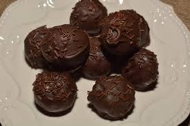 chocolate cake balls the cookin