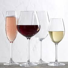 Wine Glasses Domaine Shatterproof Outdoor White Wine Glasses Set Of 4