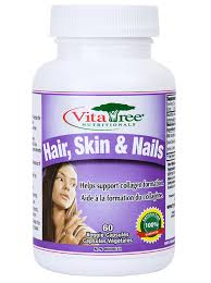 for healthy hair skin and nails