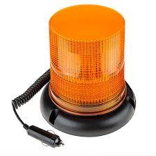 6 3 4 Amber Led Strobe Light Beacon With 40 Leds Magnetic Base