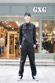 mens jumpsuit fashion personalized s jumpsuit overalls roll up hem fashion casual