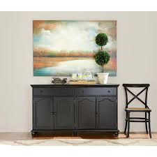black sideboards buffets kitchen dining room furniture harwick black buffet