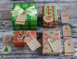 country christmas wrapping paper 25 free printable christmas gift tags the elli