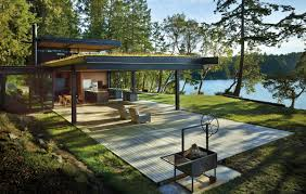 Lakefront Home Designs by A House Purpose Built For Watching Orcas Designed By Tom Kundig