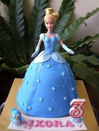 see how to make this easy disney princess cinderella doll cake