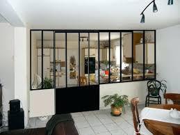 cloison pour cuisine vitre pour verriere des ides en verre vitraux dco dans
