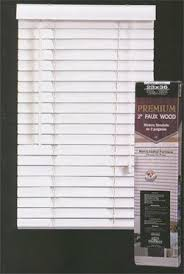 2 Faux Wood Blinds Premium 2 Inch Faux Wood Blinds Snow White 34 X 60 From Top