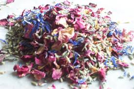 real petals dried flowers uses pretty petal confetti dried flower crafts