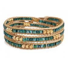 gold beads bracelet images 3 wrap beaded bracelet gold and green beads jpg&a