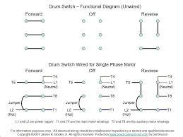 single phase reversing motor wiring diagrams single wiring diagrams
