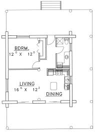 1 bedroom cottage floor plans 13 best house plans images on house floor plans small