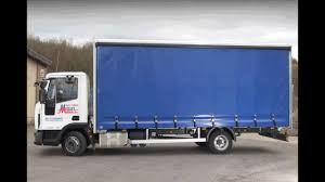 hire an iveco eurocargo 7 5t curtain side day cab lorry youtube