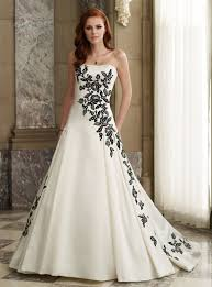 white and black wedding dresses white and black wedding dresses wedding dress styles