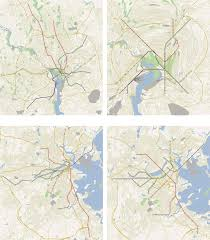 Map Of Boston And Surrounding Area by Map Warping For The Annotation Of Metro Maps
