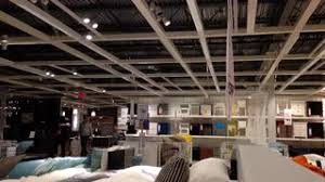 Ikea Inside Motion Of People Shopping Their Plant Inside Ikea Store Stock