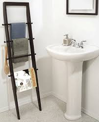 Towel Rack Ideas For Bathroom Colors White Color And Light For Breezy Bathroom Decor