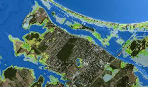 Fema Flood Maps Lewes Flood Risk Visualization Map Water Depths Associated With
