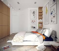 ideas for diy wall art brown oak wood nightstand three frame above