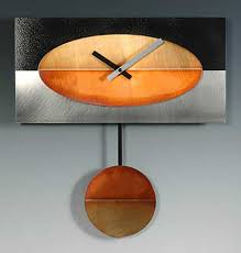 handmade contemporary clocks by leonie lacouette