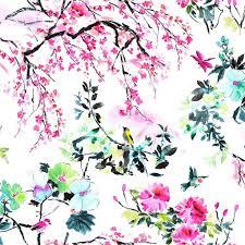 Flower Fabric Design 227 Best Fabrics Images On Pinterest Fabric Wallpaper