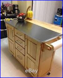 stainless steel topped kitchen islands stainless steel top kitchen island breakfast bar kitchen and decor