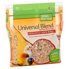 universal blend premium medium u0026 large birds seeds 3 lbs