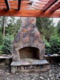 outdoor stone fireplace building an outdoor stone fireplace q x tech ui power tools