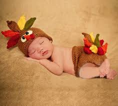 unisex knitted hats thanksgiving props turkey beanie with