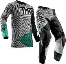 kids motocross gear packages 2018 thor pulse geotec kids youth motocross gear black teal