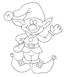 coloring pages of elf santa elf coloring pages get coloring pages